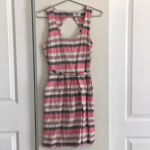 Ann Taylor LOFT. Open back pockets dress sz. 4